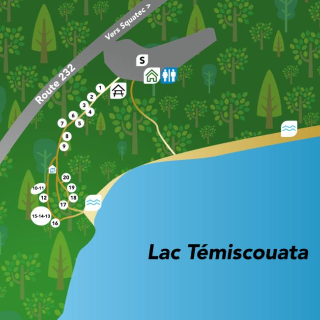 camping au bas-st-laurent tête-du-lac au lac témiscouata