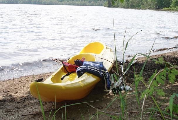 randonnée en kayak sur le lac témiscouata